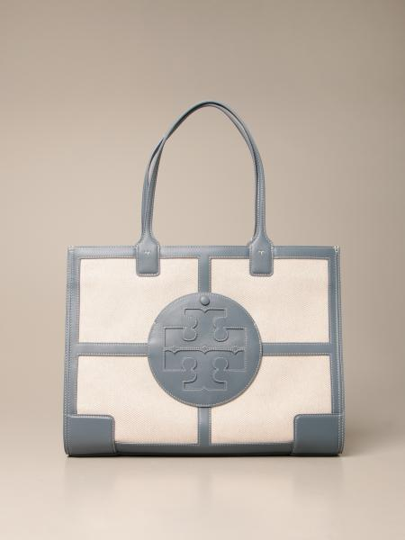 Tory Burch: Tory Burch bag in canvas and leather