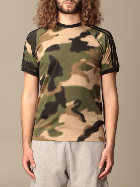 Adidas Originals T-shirt in animalier cotton