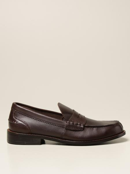 Clarks: Clarks loafers in leather