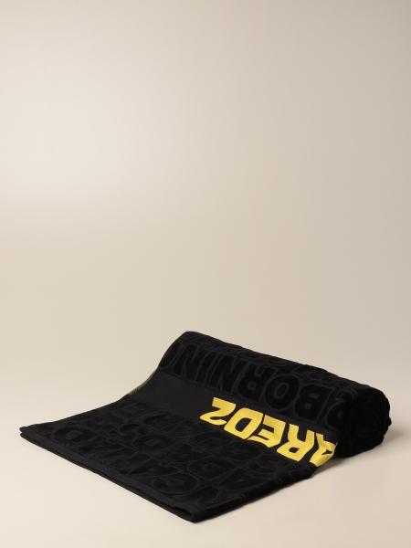 Dsquared2 bath towel with big logo