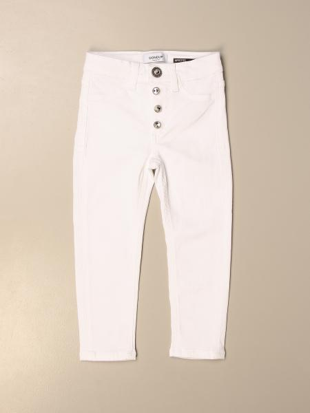 Dondup trousers with jewel buttons