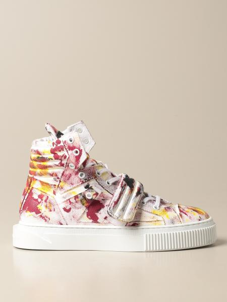 Gienchi: Sneakers Hypnos Gienchi in tessuto multicolor