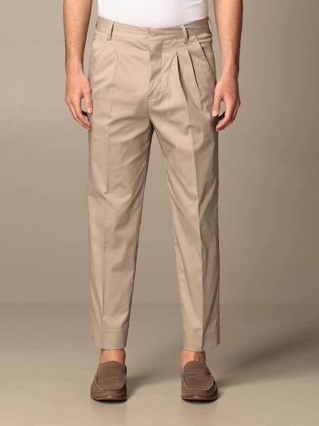 Pantalone classic Mauro Grifoni con tasche america