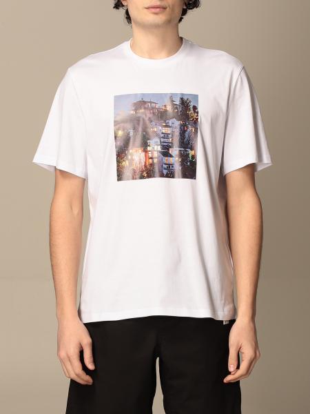 T-shirt Msgm in cotone con logo e stampa