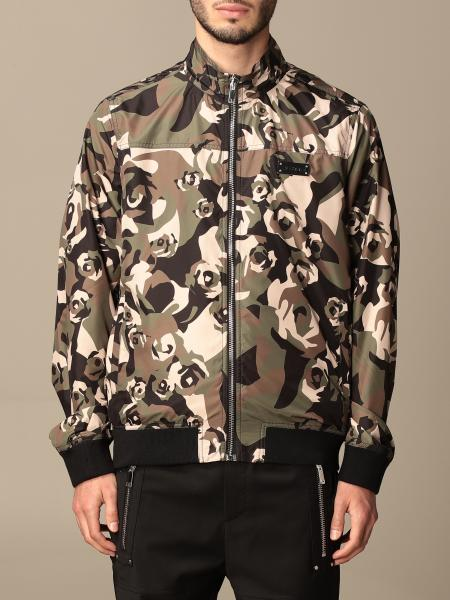 Les Hommes patterned nylon jacket