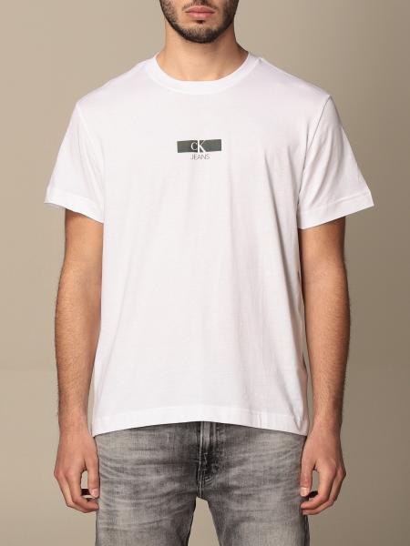 T-shirt Calvin Klein Jeans in cotone con logo