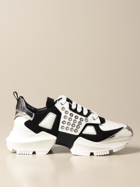 Sneakers Les Hommes in pelle e camoscio