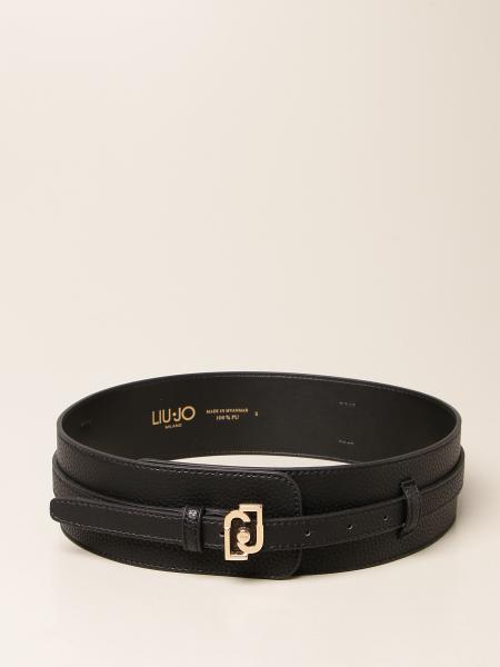 Liu Jo women: Liu Jo belt in hammered synthetic leather