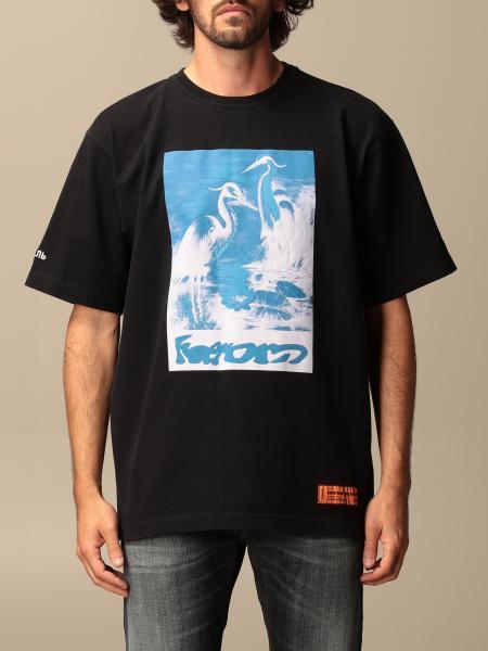 Heron Preston: Heron Preston over T-shirt with big print