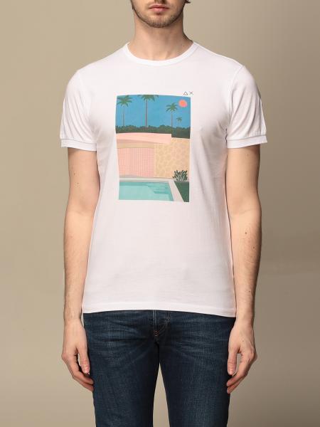 T-shirt Sun 68 con maxi stampa