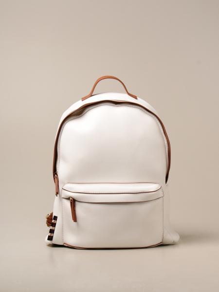 Manila Grace women: Flor Manila Grace backpack in synthetic leather