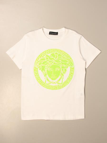 Versace Young cotton T-shirt with medusa head