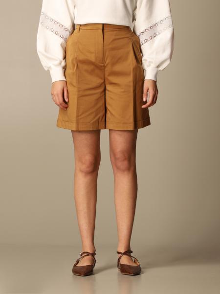 Twinset women: Twin-set high-waisted shorts