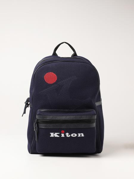 Kiton: Backpack men Kiton