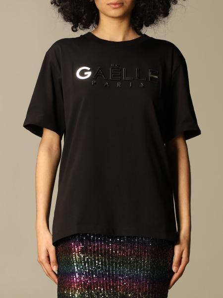 T-shirt GaËlle Paris in cotone con logo