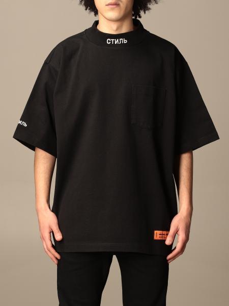 Heron Preston: Heron Preston over fit t-shirt with logo