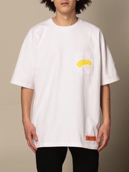 Heron Preston: Heron Preston over t-shirt with logo