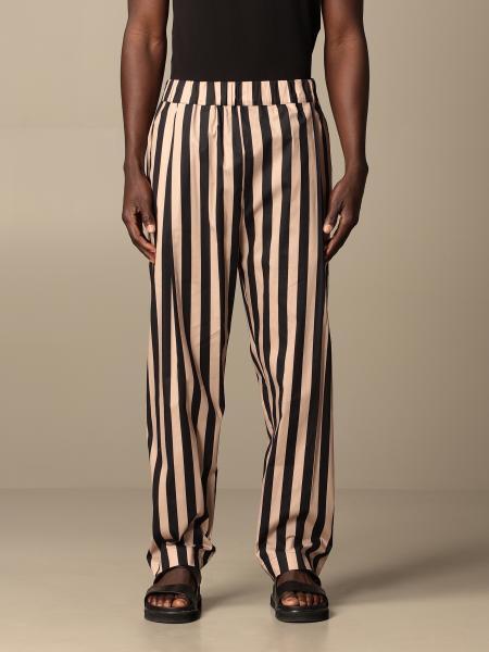 Striped Laneus jogging trousers