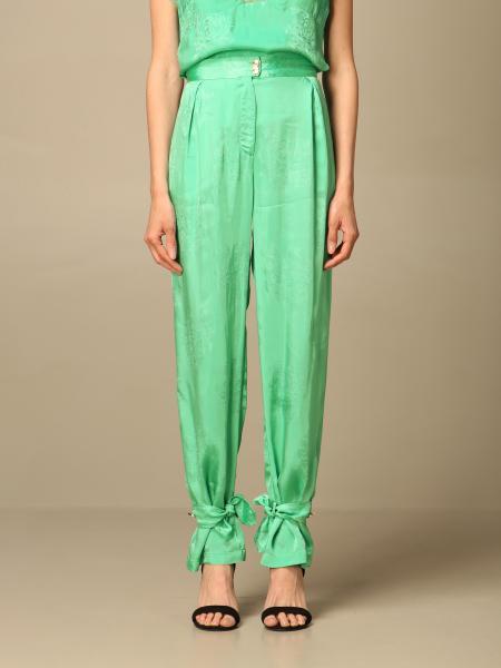 Pinko women: Pinko patterned high-waisted pants