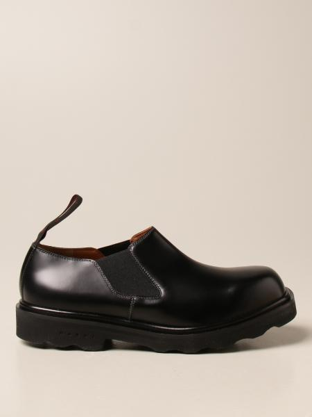 Marni: Marni slip on derby in leather