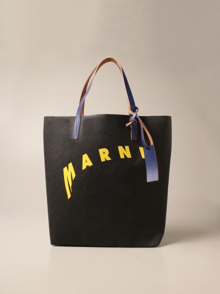 Marni: Marni tote bag with logo print