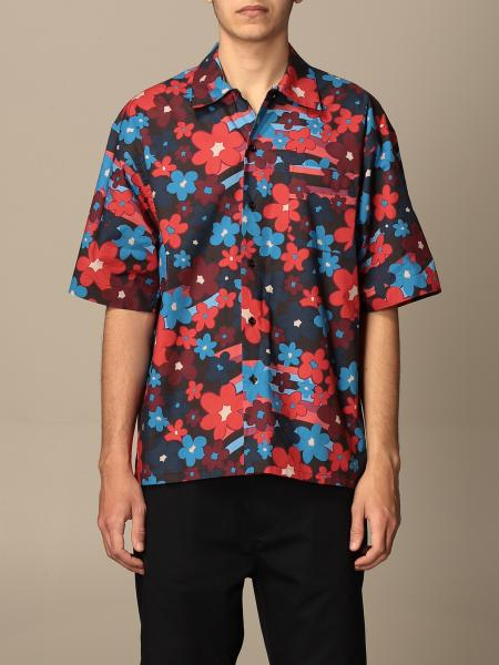 Marni: Marni shirt in floral patterned cotton