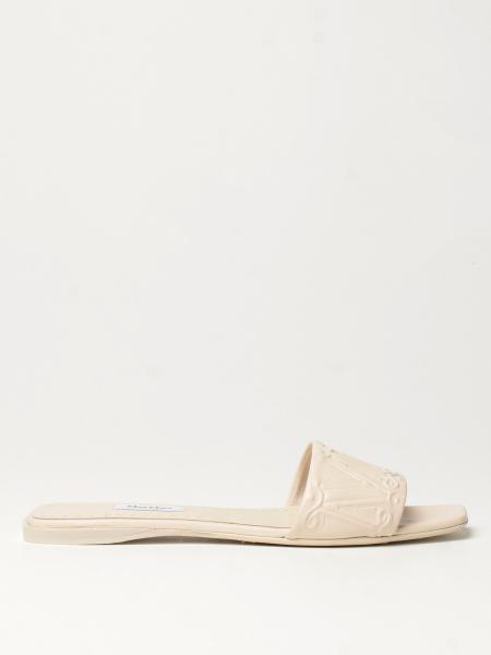 Flache sandalen damen Max Mara