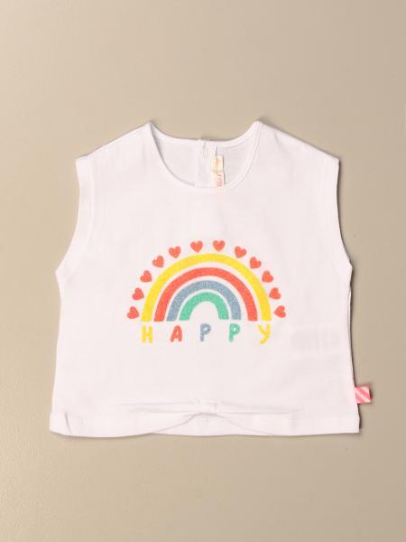 T-shirt Billieblush con arcobaleno Happy