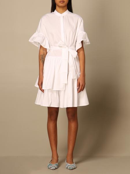 Twinset: Twin-set shirt dress in cotton