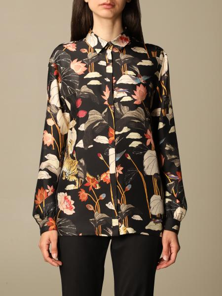 Etro women: Etro shirt in printed silk