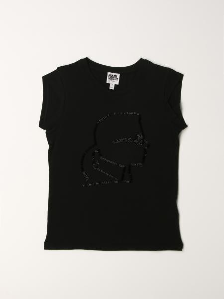 Karl Lagerfeld: Camiseta niños Karl Lagerfeld Kids