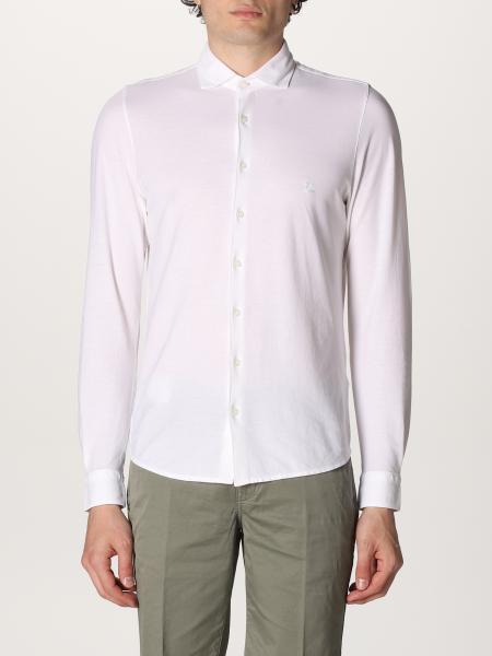 Camicia basic Gran Sasso in cotone