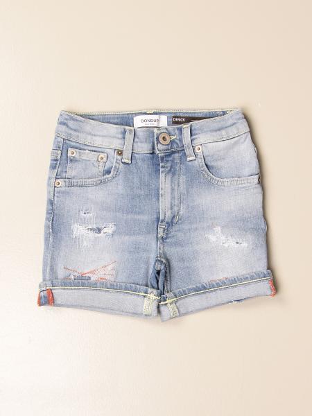 Pantaloncino di jeans Dondup con rotture