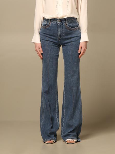 Chloé: Chloé flared jeans with 5 pockets