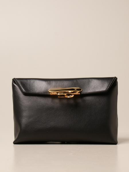 Alexander Mcqueen 女士: Sculptural Alexander McQueen 纳帕革手袋