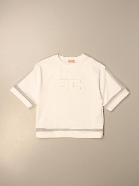 Elisabetta Franchi sweater with sheer details