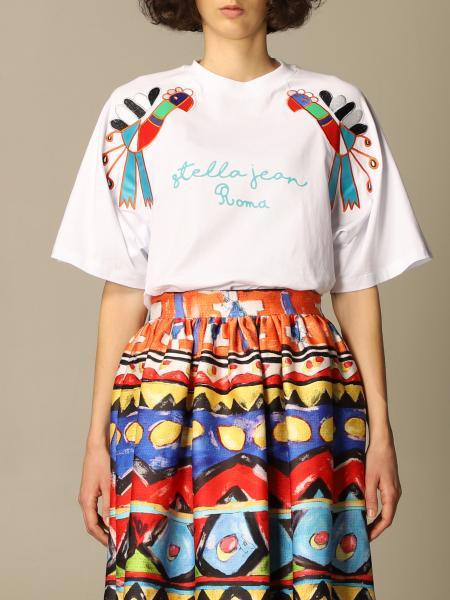 Stella Jean: T-shirt women Stella Jean