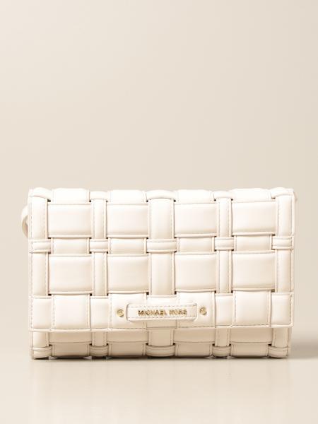 Michael Kors women: Ivy Michael Michael Kors bag in woven vegan synthetic leather