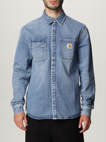 Camicia di jeans Carhartt con logo