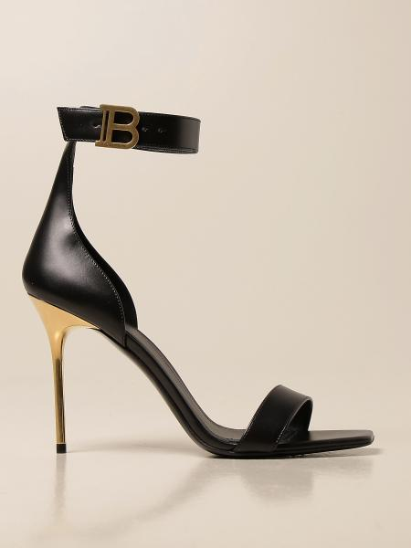 Босоножки на каблуке Женское Balmain