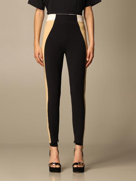Elisabetta Franchi: Tight-fitting Elisabetta Franchi tricolor pants