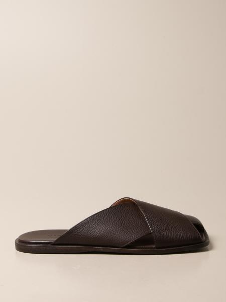 Marsèll Spatula Mule in volonata leather
