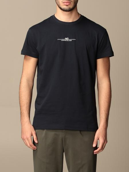 Alessandro Dell'acqua men: Alessandro Dell'acqua t-shirt in cotton with logo