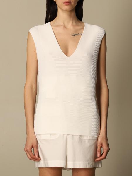 Emporio Armani women: Emporio Armani stretch knit top