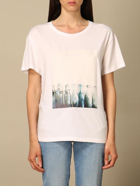 Emporio Armani women: Emporio Armani T-shirt with print