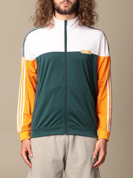 Adidas Originals tricolor zip sweatshirt