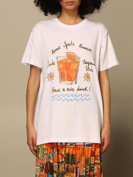 T-shirt Alessandro Enriquez con stampa