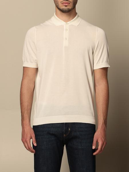 Drumohr basic short-sleeved polo shirt