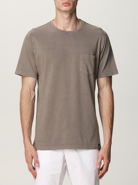 Basic Drumohr T-shirt with pocket