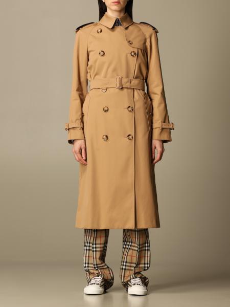 Burberry ЖЕНСКОЕ: Пальто Женское Burberry